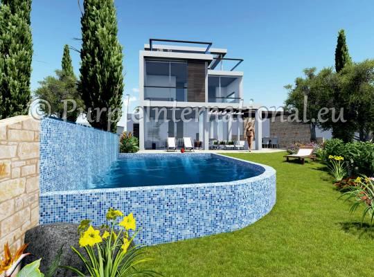 Luxury 5 Bed Villa In Chloraka