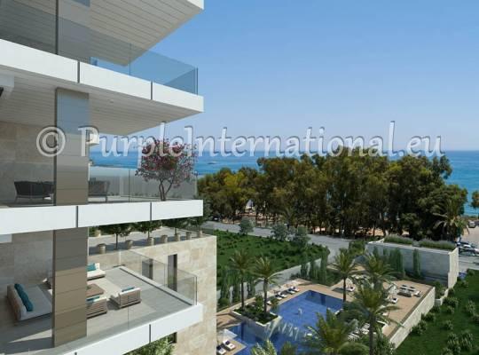 4 Bed Duplex Apartment In Agios Tychonas