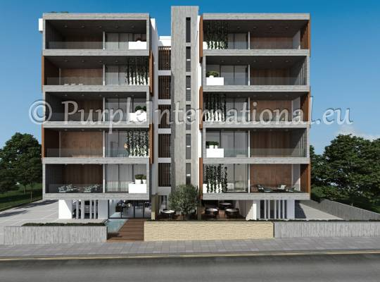 Apartment Building In Paphos Town
