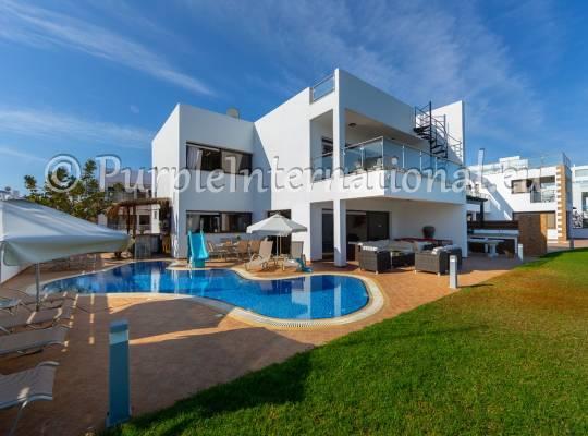 Luxury Beach Front Villa in Protaras Area