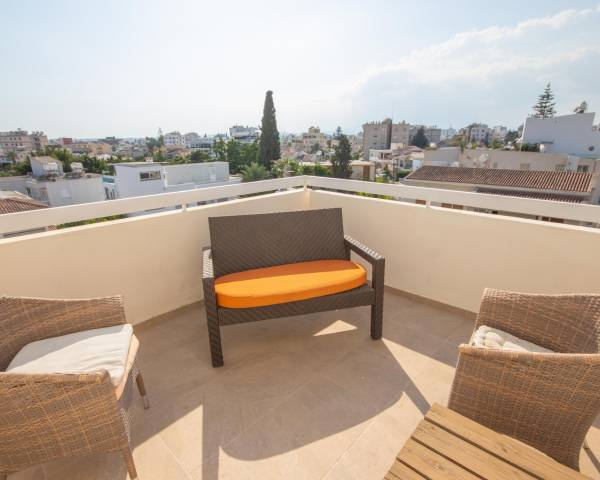 MLS9533 Two Bedroom Penthouse Apartment in Central Larnaca